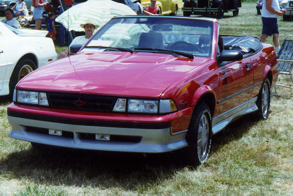 1990 Chevrolet Cavalier Convertible Pictures to Pin on Pinterest